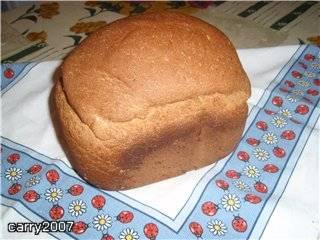 Electrolux EBM8000 Пшенично-ржаной хлеб с горчицей и овсяными хлопьями