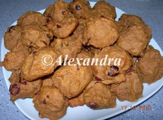 Печенье тыквенное цельнозерновое