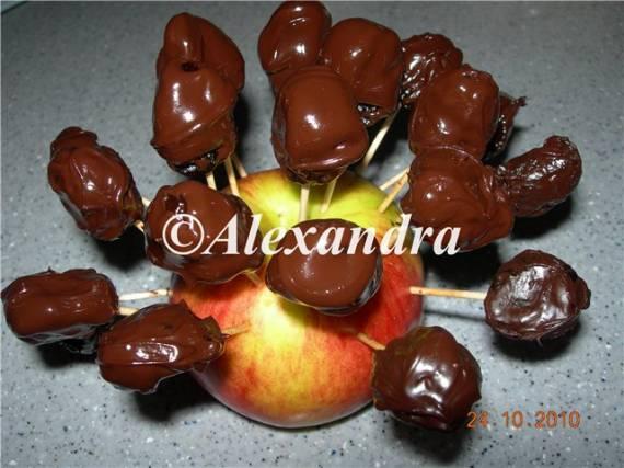 Домашние конфеты Чернослив в шоколаде