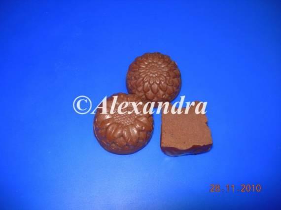 Помадки шоколадно-фруктовые (варианты - белый и темный шоколад, киви и хурма)