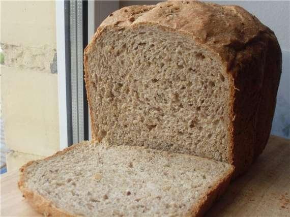 100% -ый цельнозерновой хлеб с семечками 100% -ый цельнозерновой хлеб с семечками