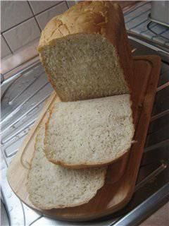 Сметанный хлеб (хлебопечка)
