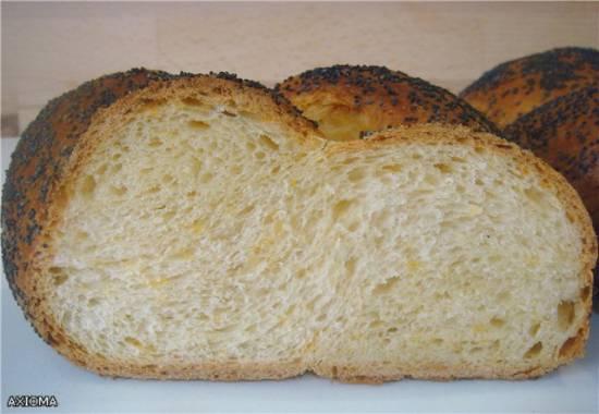 Плетенка на сливочном масле с сыром