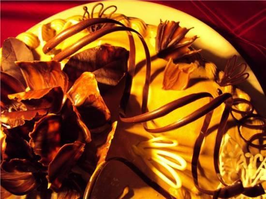 Шоколадные спиральки Шоколадные спиральки