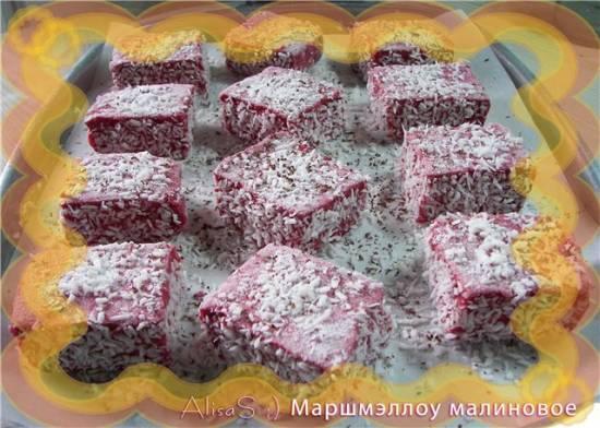 Торт из шоколада с маршмеллоу