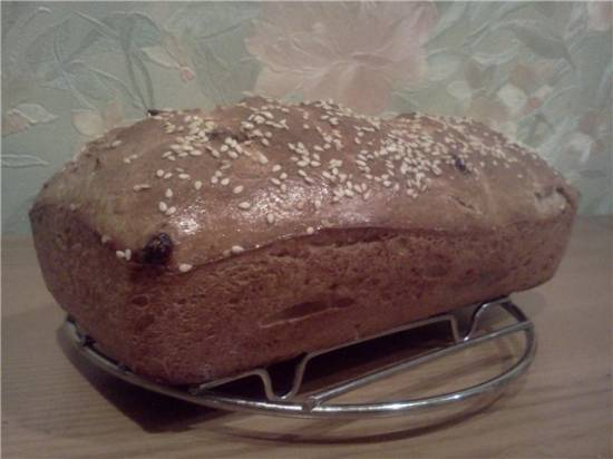 Мультивитаминные хлеб и булочки на закваске с тыквой и творогом