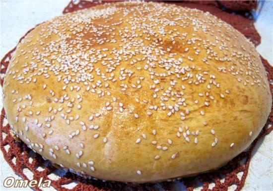 Лепешка тунисская на манке
