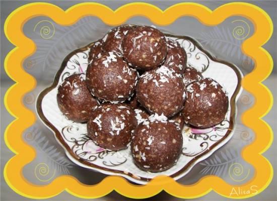 Овсяные какао-шарики