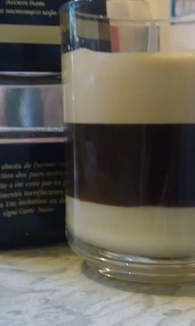 Трехслойный кофе
