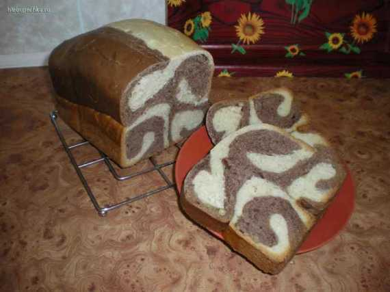 """Хлеб """"рыжая завитушка"""" на хмелевой закваске"""