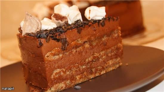 Торт итальянский ореховый