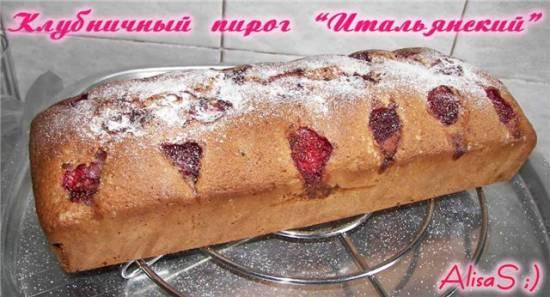 Пирог клубничный Итальянский