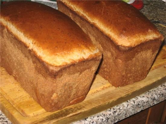 Хлеб цельнозерновой пшеничный на кефире с манной крупой (духовка)