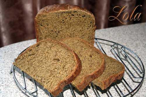 Хлеб пшенично-ржаной с вялеными томатами и шпинатом (хлебопечка) Хлеб пшенично-ржаной с вялеными томатами и шпинатом (хлебопечка)