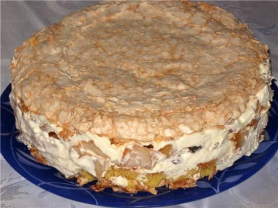 норвежский торт рецепт