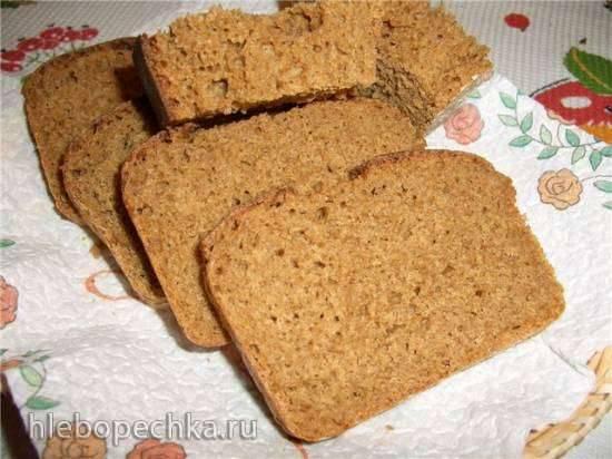 Хлеб ржано-пшеничный (полба) на картофеле (духовка) Хлеб ржано-пшеничный (полба) на картофеле (духовка)