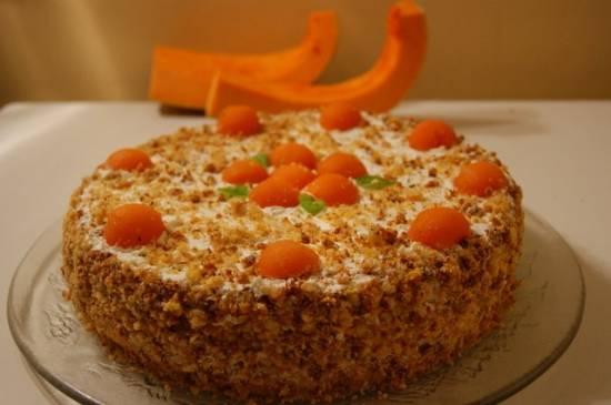 Торт Шифоновая тыква