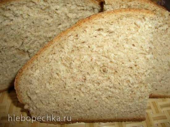 Хлеб пшенично-ржаной (духовка)