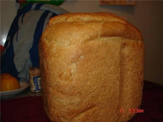 Пшенично-ржаной хлебушек (хлебопечка)