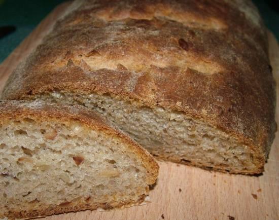 Ароматный хлеб с семенами подсолнечника (духовка) Ароматный хлеб с семенами подсолнечника (духовка)