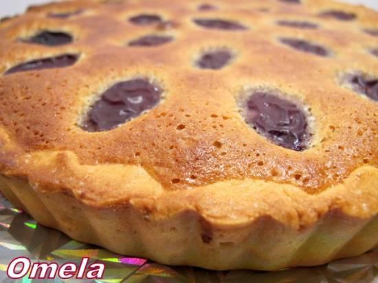 Пирог со сливами «Франжипан»