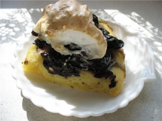Торт Пьяный чернослив