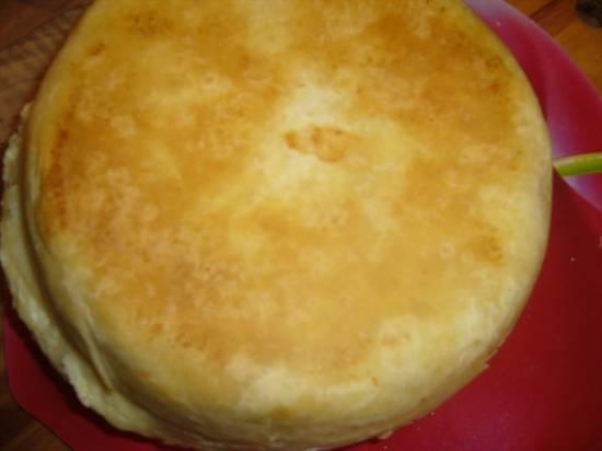 Сырный пирог для очень ленивых
