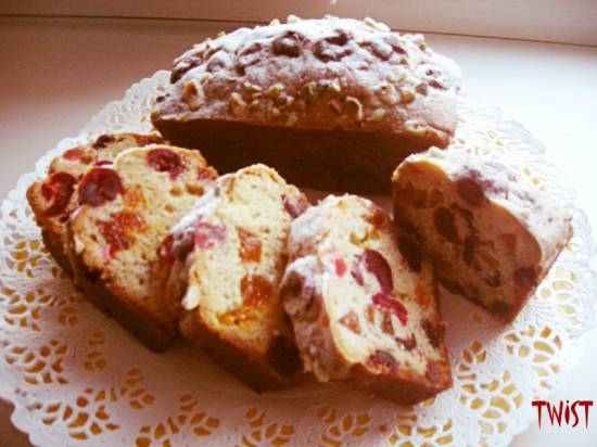 Кексы с засахаренными фруктами (Ален Дюкасс)