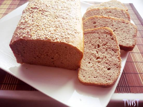 Деревенский хлеб (хлебопечка)
