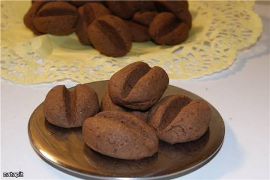 Печенье Кофейные зёрна с шоколадом