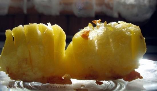 Печеный картофель Гассель в скоромульте