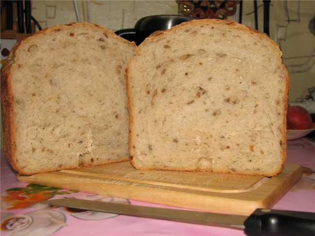 Итальянский хлеб в хлебопечке
