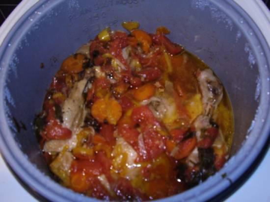 Димляма (курица с овощами)