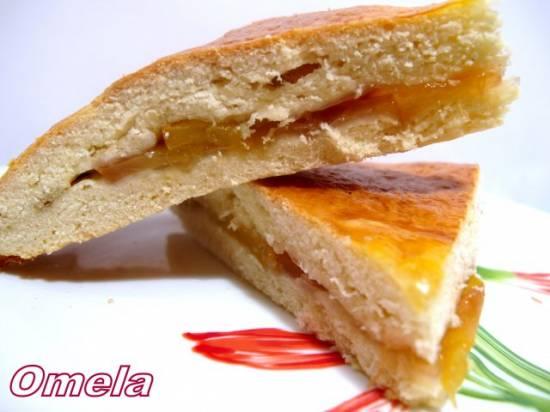 Печенье с нектарином
