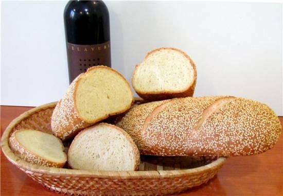 Мягкий хлеб с семолиной на закваске (духовка, мастер-класс)