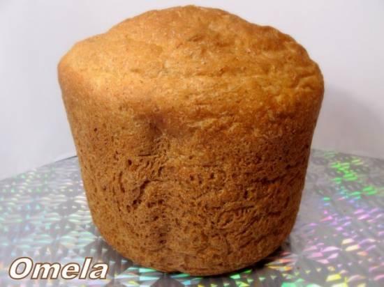 Хлеб бананово-апельсиновый сливочный (духовка)