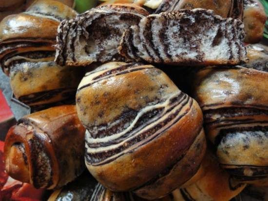 Chocolate Wassant (Японская выпечка)