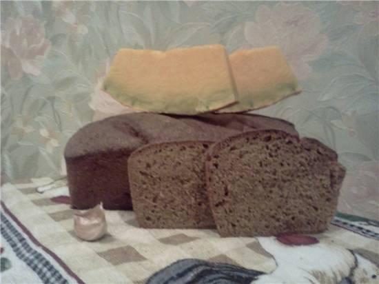 Тыквенный хлеб с сыром