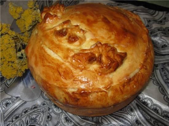 Пирог домовенка Кузи