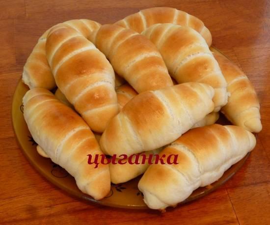Масляные роллы (сливочные рогалики)
