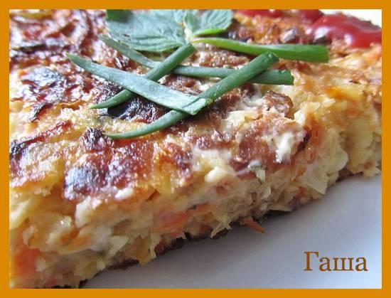 Пицца по-японски, Окономияки