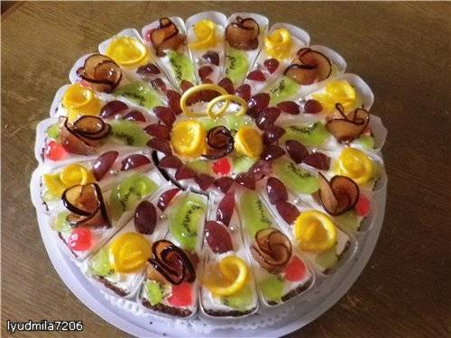 Сборка порционного торта (мастер класс)