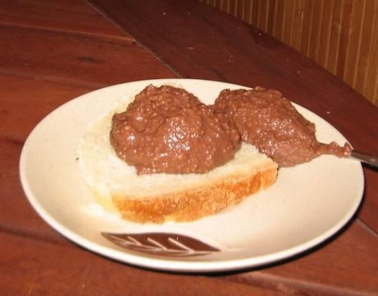 Паста орехово-шоколадная