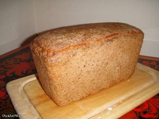 Хлеб ржано-пшеничный цельнозерновой на закваске