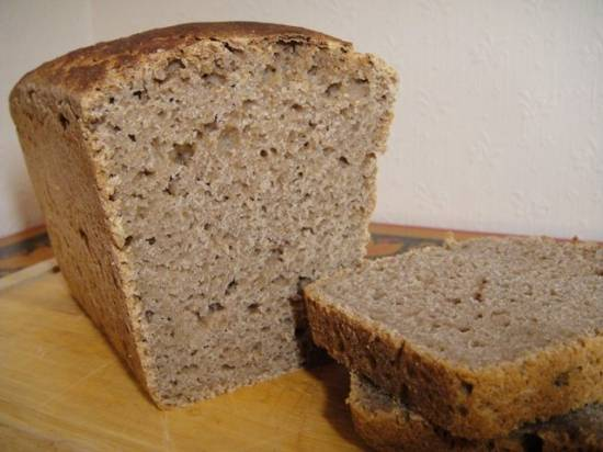 Хлеб ячменный на закваске, пока самый вкусный.
