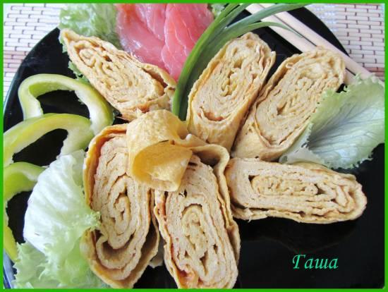 Японский омлет (Тамаго-яки)