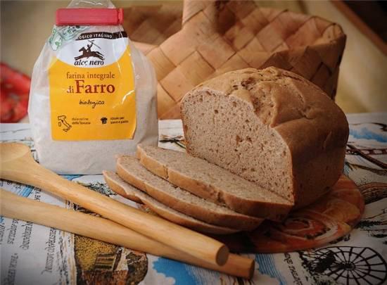 """Хлеб из спельты """"Сельский"""" на ржаной закваске"""