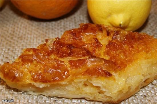 Апельсиновый пирог (Портокалопита)