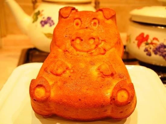 Кекс «Свинья в апельсинах»