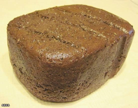 Ржаной хлеб на закваске в хлебопечке Ржаной хлеб на закваске в хлебопечке